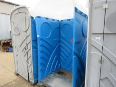 PORTABLE TOILET, SHELL ONLY. OPEN FRONTED