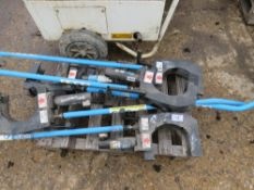 5 x UIS CLICK STICK TILE DRAIN CRACKING UNITS WITH HANDLES .... 5 ITEMS IN ONE LOT