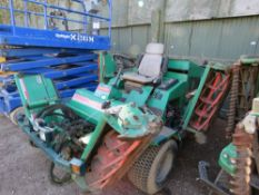 RANSOMES COMMANDER 3510 51HP 5 GANG MOWER. WHEN TESTED WAS SEEN TO RUN, DRIVE AND MOWERS TURNED.