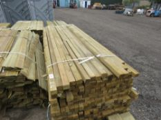 LARGE PACK OF 2.4M TIMBER POSTS 45 X 55MM APPROX. 350PCS APPROX.