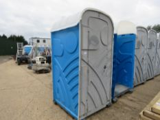 PORTABLE TOILET, SHELL ONLY.