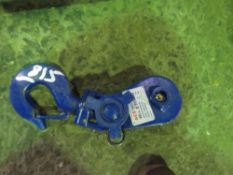 2 TONNE RATED SNATCH WINCH BLOCK.