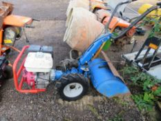 BCS CAMON PETROL ENGINED ROTORVATOR, YEAR 2007. WHEN TESTED WAS SEEN TO START, DRIVE, BLADES TURNED