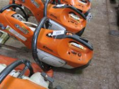 STIHL TS410 PETROL ENGINED SAW. DIRECT FROM LOCAL COMPANY AS PART OF THEIR ONGOING FLEET MANAGEMENT