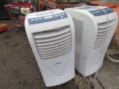 2 X AIR CONDITIONING UNITS, UNTESTED, CONDITION UNKNOWN.