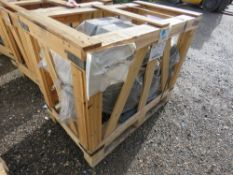 PALLET CONTAINING 1 X ELECTRIC MOTOR @55KW. 400/690 VOLT POWERED. SOURCED FROM A LARGE MANUFACTURIN