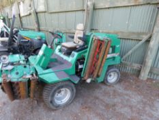 RANSOMES COMMANDER 3520 5 GANG MOWER. 3433 REC HOURS. WHEN TESTED WAS SEEN TO DRIVE AND MOWERS TURNE