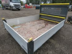 INGIMEX DROP SIDE BODY, 10FT LENGTH APPROX. PREVIOSLY ON FORD TRANSIT YEAR 2012 APPROX.