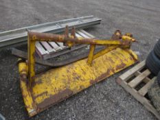 SNOW PLOUGH BLADE WITH RUBBER EDGE, 6FT WIDE APPROX.