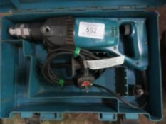 MAKITA DIAMOND DRILL. DIRECT FROM LOCAL COMPANY AS PART OF THEIR ONGOING FLEET MANAGEMENT RENEWAL PR