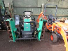 RANSOMES PARKWAY 2550 TRIPLE MOWER. REG:KE54 RWJ. 3289 REC HRS. YEAR 2005 APPROX. WHEN TESTED WAS SE