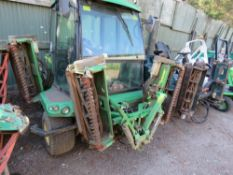 JOHN DEERE 1905 4WD 5 GANG FAIRWAY MOWER, YEAR 2011 APPROX. WHEN TESTED WAS SEEN TO RUN, DRIVE AND