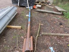 KONGSKILDE 240VOLT 14FT APPROX GRAIN AUGER, CONDITION UNKNOWN.