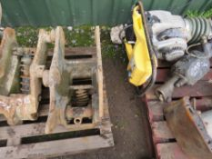 8TONNE MANUAL QUICK HITCH, 50MM PINS, UNTESTED.