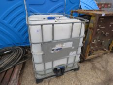 IBC CONTAINER TANK.