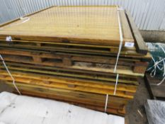 3 X PALLETS OF ASSORTED PANELS. 16NO APPROX IN TOTAL.
