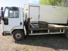 CARGO BEAVERTAIL PLANT LORRY. WHEN TESTED WAS SEEN TO START DRIVE AND BRAKE. REG:D713 XPE.