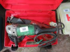 HITACHI ANGLE GRINDER AND HILTI RECIP SAW. DIRECT FROM LOCAL COMPANY AS PART OF THEIR ONGOING FLEET