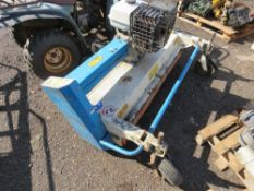 WESSEX TF1365 FLAIL QUAD BIKE MOWER. 4FT CUT APPROX. ENGINE HAS NO FUEL SO WE HAVE BEEN UNABLE TO TE