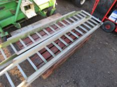 "SET OF RAMPS 7FT6"" LENGTH APPROX."