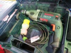2 X BOSCH 110 VOLT SDS DRILLS. SOURCED FROM DEPOT CLEARANCE DUE TO A CHANGE IN COMPANY POLICY.