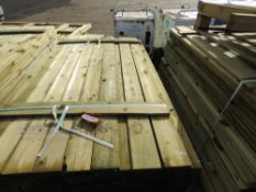 LARGE PACK OF FEATHER EDGE TIMBER FENCE CLADDING 1.8M LENGTH APPROX.