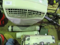 AIR CONDITIONER PLUS 2 X HOSES. SOURCED FROM DEPOT CLEARANCE DUE TO A CHANGE IN COMPANY POLICY.