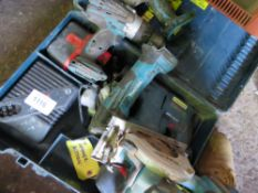 QUANTITY OF SCRAP POWER TOOLS.
