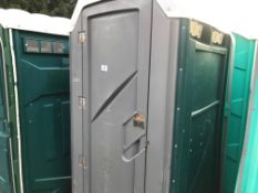PORTABLE SITE TOILET WITH SINK (NO FLUSHING HANDLE)