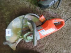 HUSQVARNA K300 WET CUT 110VOLT SAW, CONDITION UNKNOWN.