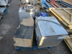 PALLET OF KITCHEN ITEMS, EX CAFE CLOSURE, CONDITION UNKNOWN.