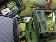3 X BRADY BMP21 LABEL PRINTERS. SOURCED FROM DEPOT CLEARANCE DUE TO A CHANGE IN COMPANY POLICY.