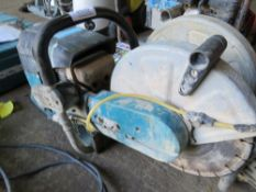 MAKITA PETROL SAW. CONDITION UNKNOWN.