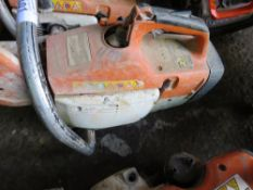 STIHL TS400 PETROL SAW. CONDITION UNKNOWN.