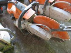 STIHL TS410 PETROL SAW. CONDITION UNKNOWN.