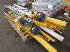PALLET OD ASSORTED WORKLIGTS WITH STANDS, CONDITION UNKNOWN.
