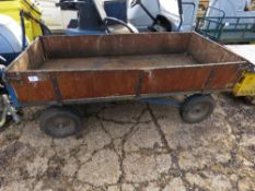 4 WHEEL DROPSIDE GARDEN TRAILER