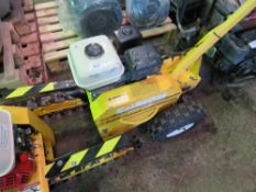 CAMON TR12 PETROL ENGINED CHAIN TRENCHER, YEAR 2008 BUILD. DIRECT FROM LOCAL COMPANY AS PART OF TH
