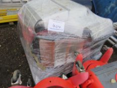 PALLET OF ASSORTED HEATERS, CONDITION UNKNOWN.