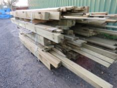LARGE STACK OF USEFUL TIMBER.