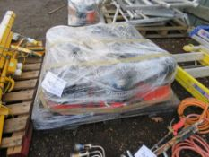 PALLET CONTAINING 9 X HENRY HOOVERS, CONDITION UNKNOWN.