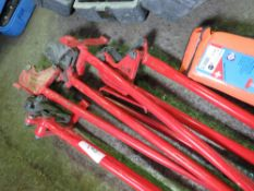 4 X SUPER NKM10 PIPE/BOLT CUTTERS.