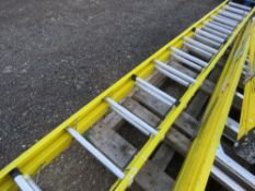 2 SECTION GRP LADDER. SOURCED FROM LOCAL DEPOT CLEARANCE DUE TO A CHANGE IN POLICY.