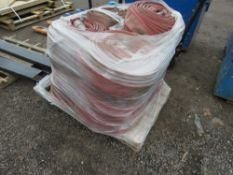 PALLET OF LAY FLAT HOSES, 25NO APPROX IN TOTAL.
