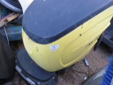 KARCHER 750 FLOOR SCRUBBER CONDITION UNKNOWN.