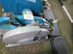 MAKITA 110 VOLT METAL CUTTING SAW. SOURCED FROM DEPOT CLEARANCE DUE TO A CHANGE IN COMPANY POLICY.