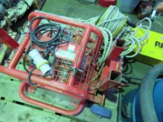 BHW 110 VOLT WINCH UNITWITH ROPE. COMES WITH FOOT CONTROL PEDAL YEAR 2005. SOURCED FROM DEPOT CLEARA