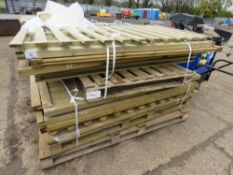 14 X ASSORTED FENCE PANELS/PEDESTRIAN GATES.