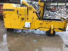 McINTYRE 5025 NON FERROUS BALER UNIT, 3 PHASE ELECTRIC POWERED. ACQUIRED BY THE COMPANY MANY YEARS