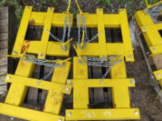 4 X FORKLIFT MOUNTING FRAMES SUITIBLE FOR SNOW PLOUGH ETC.
